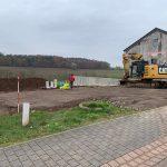 Geländeaufbau Einfamilienhaus